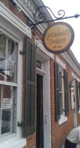 Grandma's Cookies, one of many fun stops on Historic Main Street